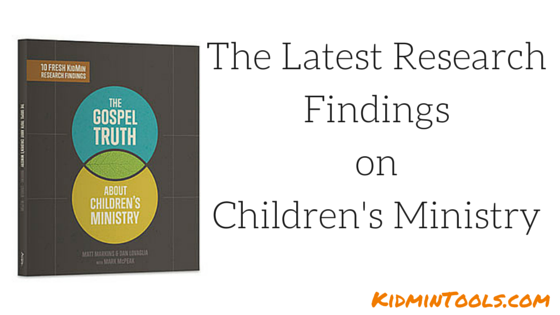 The Latest Research Findings on Children's Ministry